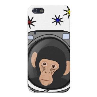 ¡chimpancé del espacio! Mono lindo del explorador  iPhone 5 Cobertura