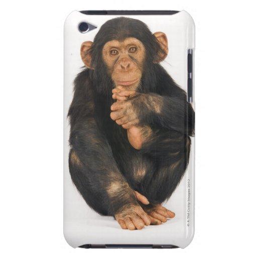Chimpancé (trogloditas de la cacerola) iPod touch Case-Mate protector