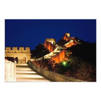 China, Badaling, Gran Muralla, vista a Cojinete