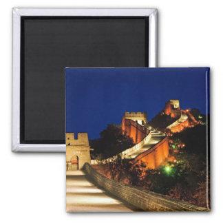 China, Badaling, Gran Muralla, vista a Imán Cuadrado