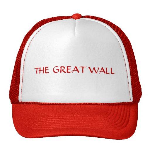 """China """"la Gran Muralla """" Gorras De Camionero"""