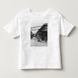 Chinatown en Shangai, fin del siglo XIX Camiseta