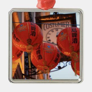 Chinatown febrero de 2013 4.jpg adorno navideño cuadrado de metal