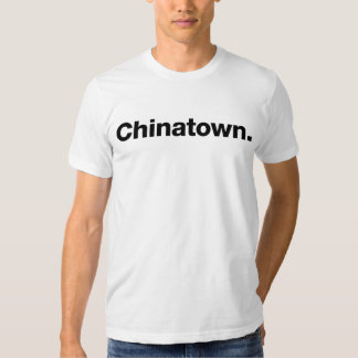 Chinatown (negro) camisetas