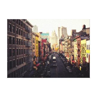 Chinatown New York City Lienzo