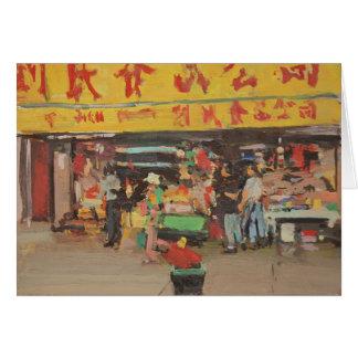 Chinatown Nueva York 2012 Tarjeta De Felicitación