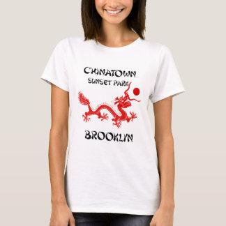 Chinatown, parque de la puesta del sol, Brooklyn Camiseta