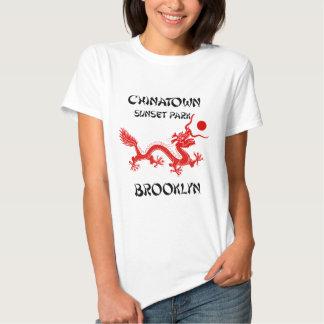 Chinatown, parque de la puesta del sol, Brooklyn Camisetas