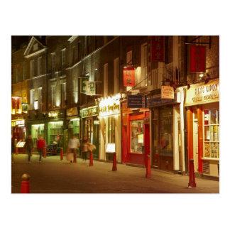 Chinatown, Soho, Londres, Inglaterra, Reino Unido Postal