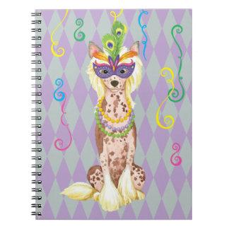 Chino del carnaval Crested Cuaderno