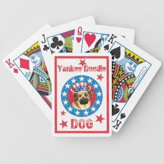 Chinook patriótico baraja de cartas