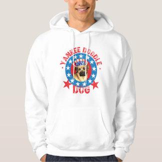 Chinook patriótico pulóver con capucha