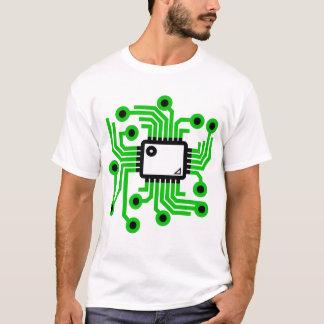 Chip de ordenador camiseta