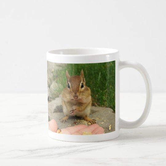 Chipmunk fresco taza de café
