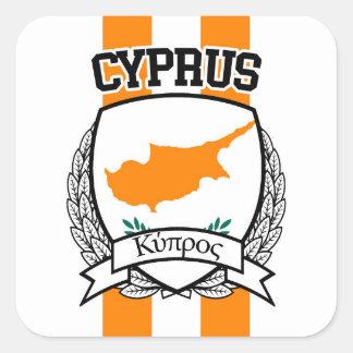Chipre Pegatina Cuadrada
