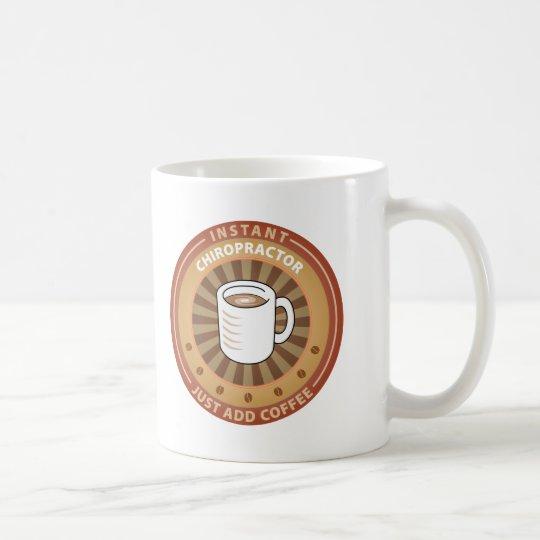 Chiropractor inmediato taza de café