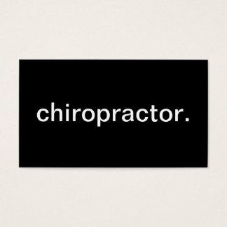 Chiropractor Tarjeta De Visita