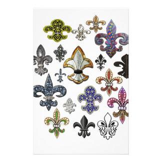Chispa de la joya de Flor New Orleans de la flor d Papeleria