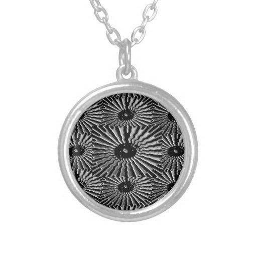 Chispa de la plata de Silverlite: Belleza NEGRA Pendientes