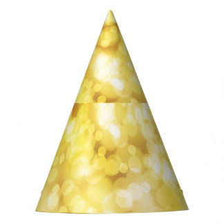 Chispa de oro gorro de fiesta