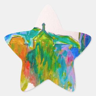 Chispa de Roanoke Pegatina En Forma De Estrella
