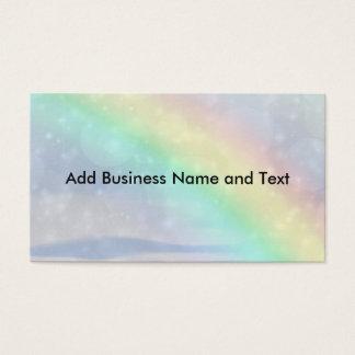 Chispa del arco iris tarjeta de negocios
