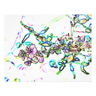 chispa del extracto del esquema de las flores