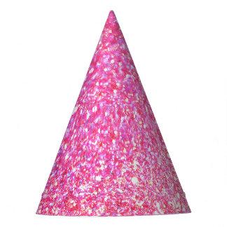 Chispa rosada del encanto gorro de fiesta