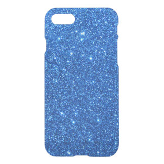 Chispas azules brillantes del brillo funda para iPhone 8/7