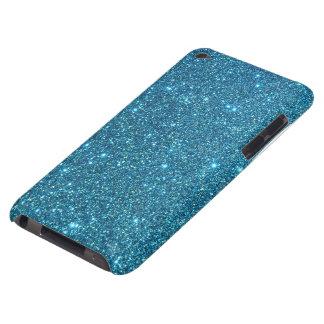 Chispas azules lindas del brillo iPod Case-Mate protectores