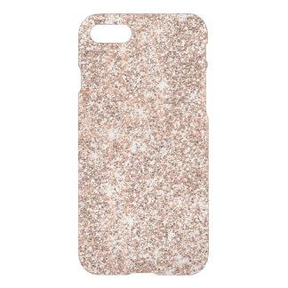 Chispas color de rosa en colores pastel modernas funda para iPhone 8/7