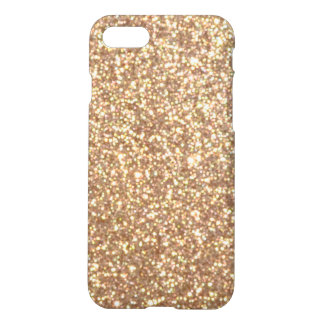 Chispas de cobre brillantes del brillo funda para iPhone 8/7