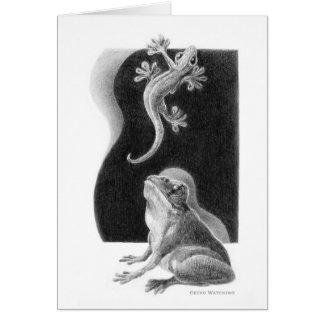 Chispas de KIW: Tarjeta de observación del Gecko