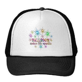 Chispas del salón de baile gorras