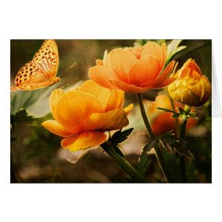 chispas femeninas descaradas elegantes coloridas tarjeta