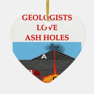 chiste de la geología ornamentos de reyes