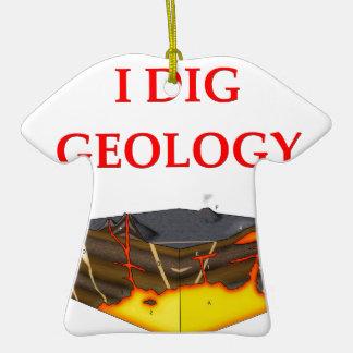 chiste de la geología ornamentos de navidad