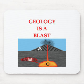 chiste de la geología alfombrilla de ratón
