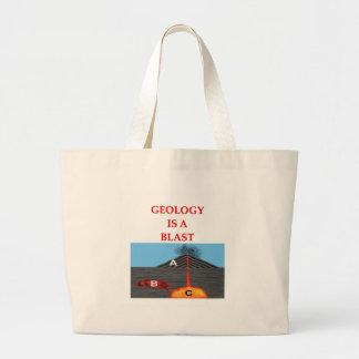 chiste de la geología bolsas de mano