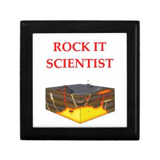 chiste de la geología cajas de recuerdo
