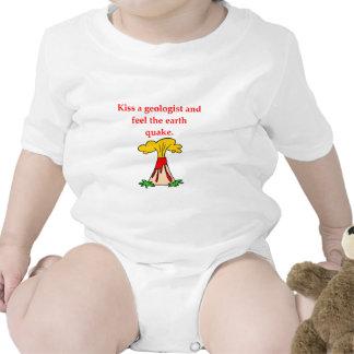 chiste de la geología trajes de bebé