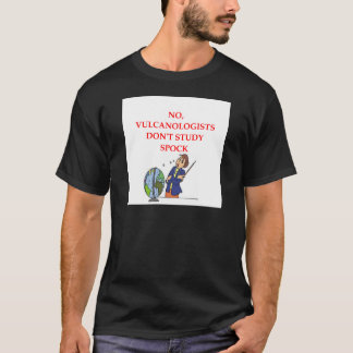 chiste de la geología camiseta
