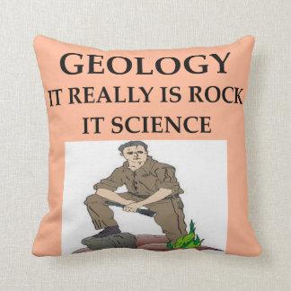 Chiste de la geología cojín