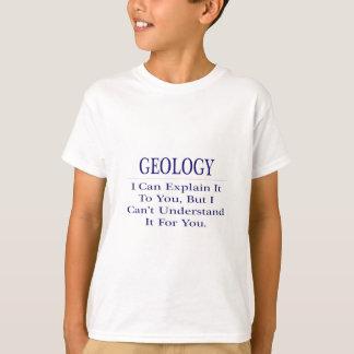 Chiste de la geología. Explique para no entender Camisetas