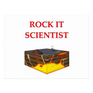 chiste de la geología postal