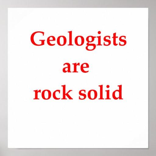 chiste de la geología impresiones