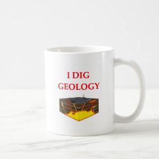 chiste de la geología tazas de café