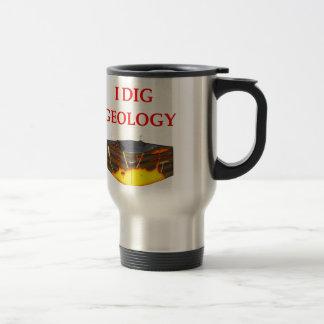 chiste de la geología taza térmica