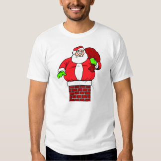Chiste de Papá Noel Camisetas