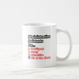 Chiste del concurso del ayudante administrativo… tazas de café